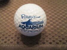 LOGO GOLF BALL-RIPLEY'S AQUARIUM.....MYRTLE BEACH, SC.........