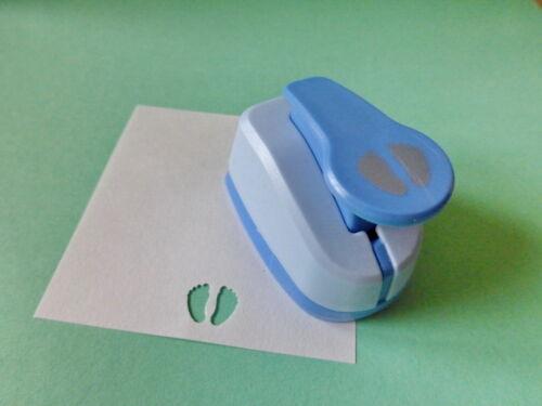 Motivlocher Baby Füße Motivstanzer 15 x 12mm Basteln Kartengestaltung