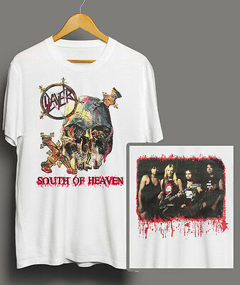REPRO VINTAGE SLAYER - SOUTH OF HEAVEN 90'S CONCERT T-shirt METALLICA MEGADETH
