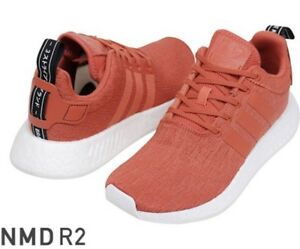 ADIDAS NMD R2 Orange Sneakers New Size