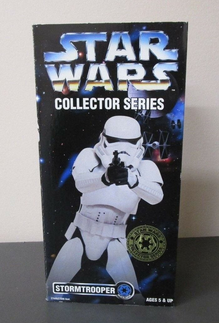 Stormtrooper 1996 STAR WARS Collector Series 12  1 6 Scale MIB