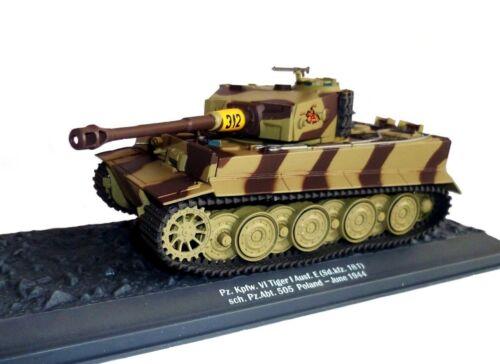 PANZER PZ SD.KFZ.181 KPFW.VI TIGER  AUSF 1//43 -MILITAIRE E 1944