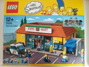 Lego-71016-the-simpsons-Kwik-E-mart-Boite-neuve-et-scellee-collector-jeu-jouet