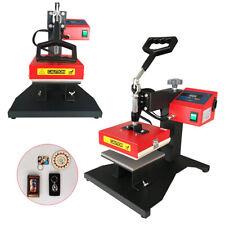 Digital Transfer Iron Heat Press Machine Sublimation T Shirt Mouse Pad 110v