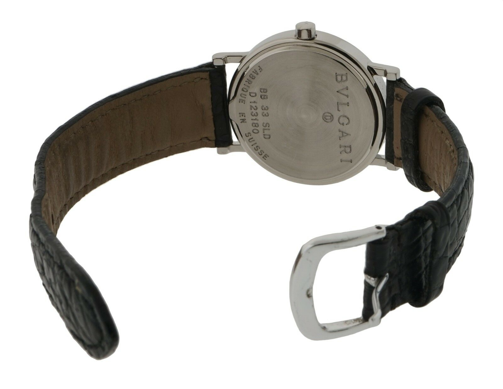 best loved 03157 f66f7 Bulgari Bulgari Bvlgari BB33SLD Stainless Steel Quartz 33mm Mens Watch