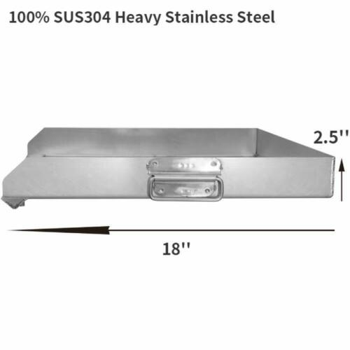 Details about  /Flat Top Griddle Grill Heavy Stainless Steel for Home Single//Triple Burner Stove