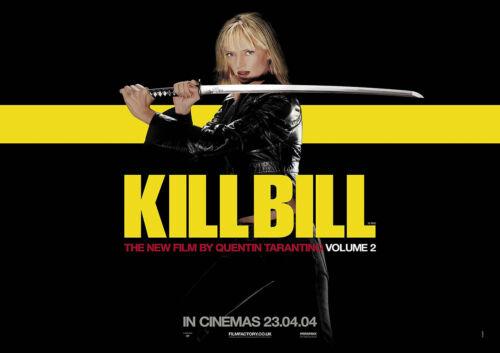 KILL BILL Reproduction Movie Cinema Poster Art VOLUME 2 2004 Uma Thurman