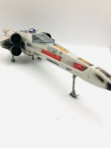 1998-STAR-WARS-LARGE-X-WING-FIGHTER-HASBRO-TOY-SPACE-SHIP-PLANE-LUKE-R2D2