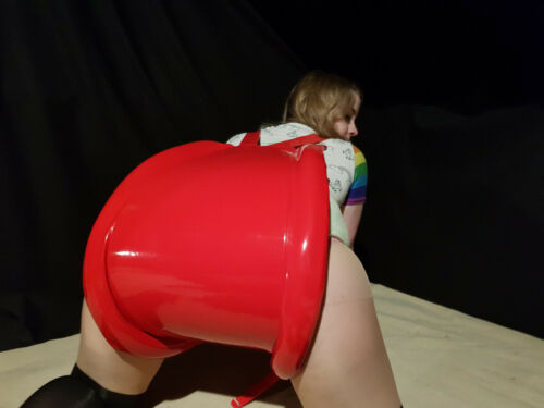 RED Spreader Pants with Locks in PVC