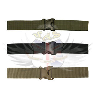 KOMBAT-TACTICAL-ADJUSTABLE-NYLON-SECURITY-BELT-TAN-GREEN-BLACK-SPECIAL-FORCES-SF