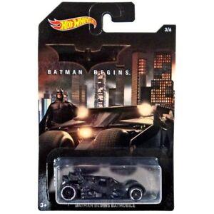 b010a27e3df3e Details about Hot Wheels Batman Begins Batmobile Die-Cast Car #3/6
