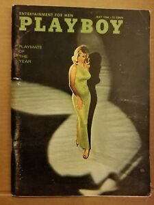 Playboy-May-1966-Free-Shipping-USA-Very-Good-Condition
