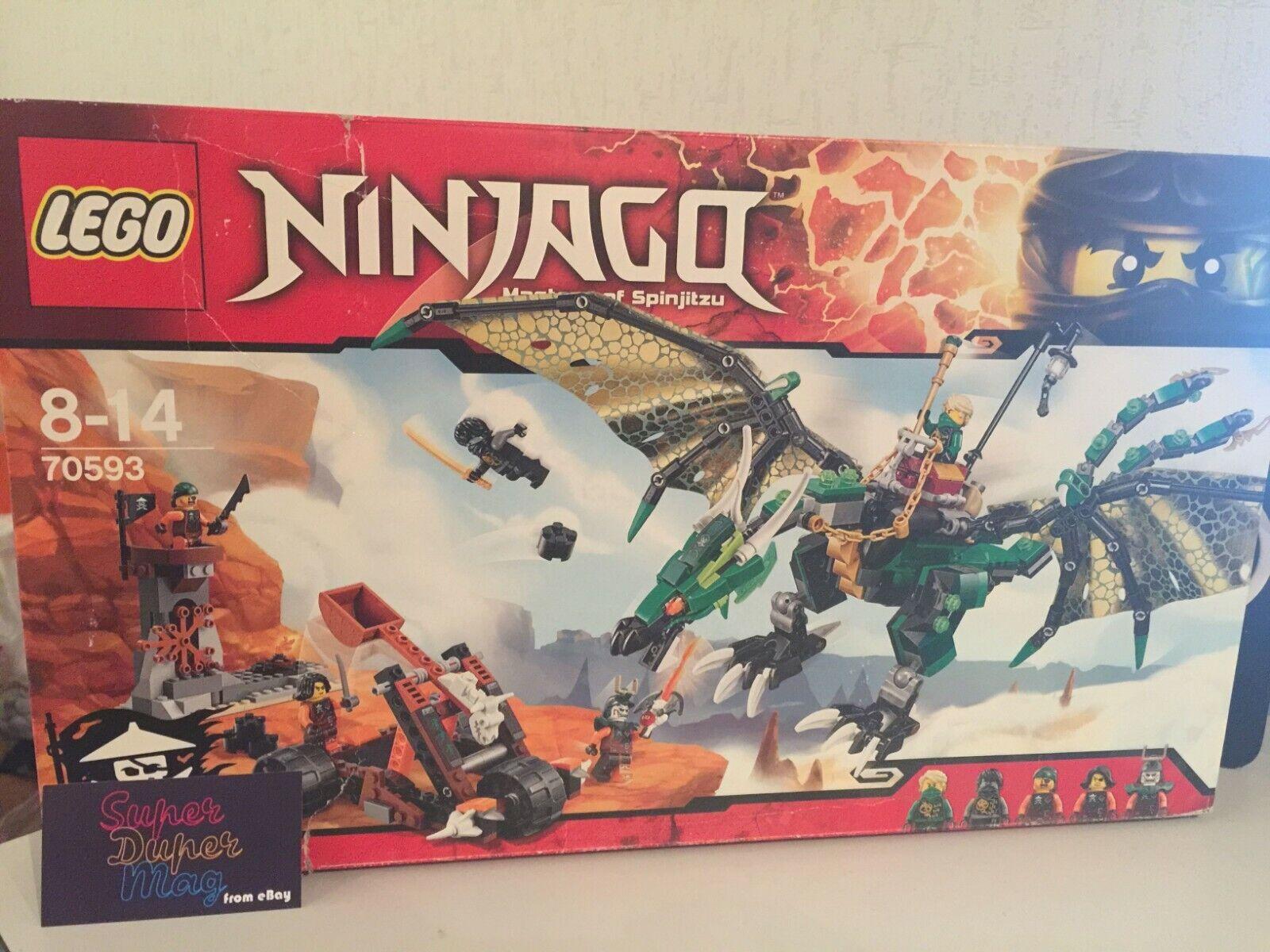 si affrettò a vedere LEGO 70593 The verde verde verde NRG Dragon NINJAGO nuovo & Sealed  per poco costoso