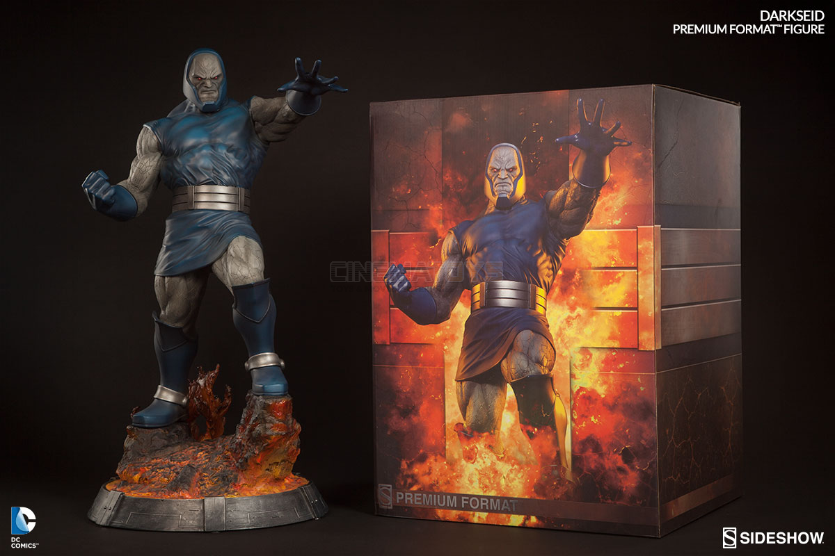 DC Comics Superman : Darkseid Premium Format Figure Sideshow Collectibles Statue