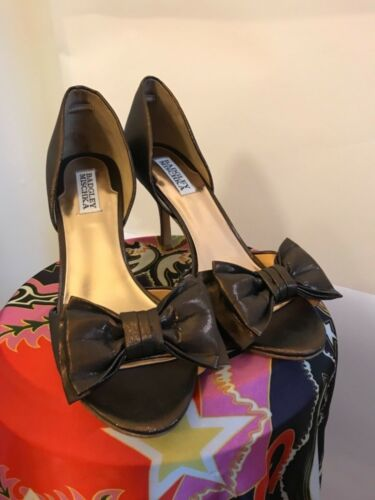 Rrp Mischka 10m Nuovo Us Peep Shoes 7 5uk Badgley Toe 178 pw7OfHHxq