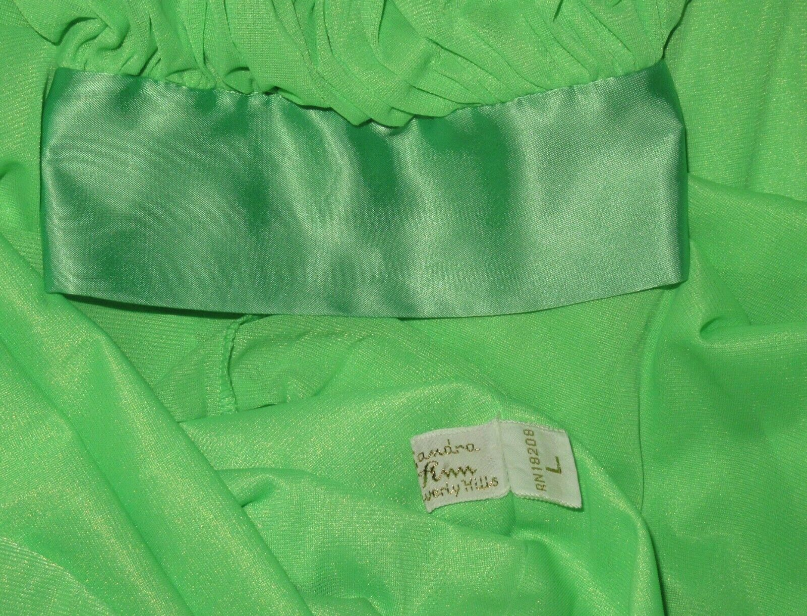 """Vintage LUCIE ANN 306"""" Sweep Dressing Gown or Pei… - image 7"""