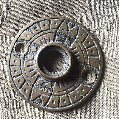 Incroyable Door Knobs Rosette Antique VICTORIAN Eastlake Cast Bronze