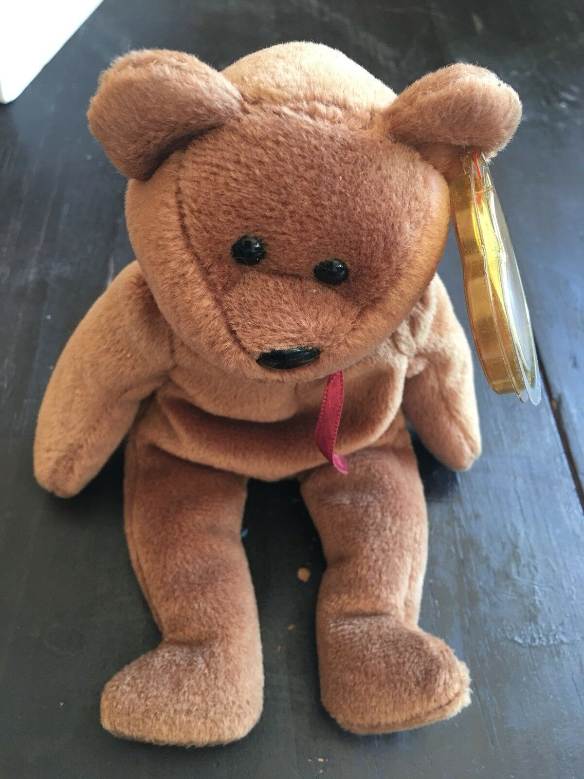 Rare TY Beanie Baby Retired PVC Teddy 1993