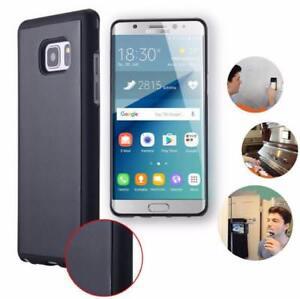 Anti-Gravite-Etui-Chevre-Ventouse-Magique-Selfie-Coque-pour-IPHONE-amp-Samsung