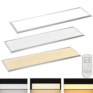 12 64w led panel 120x30 120x60 60x30 30x30cm deckenleuchte wandleuchte ultraslim ebay. Black Bedroom Furniture Sets. Home Design Ideas
