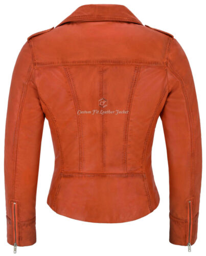 Motorcycle reale Style Lady Leather Napa Biker Biker 9823 stile Morbido WaA7ZaT
