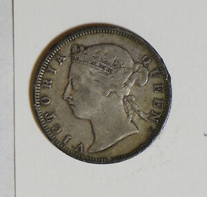 Hong-Kong-1894-20-Cents-silver-H0088-combine-shipping