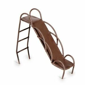 Miniature Fairy Garden Rustic Metal Slide - Buy 3 Save $5