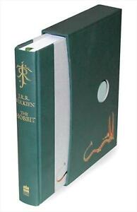 The Hobbit: Deluxe Edition by J.R.R. Tolkien (English) Hardcover Book Free Shipp