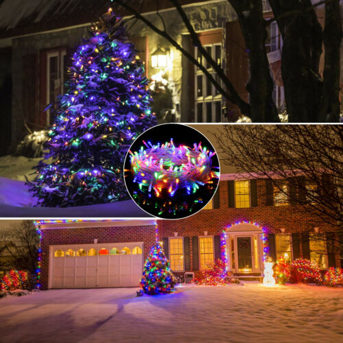 10-50M Fairy String Lights 100 LED 500LED Xmas Party Tree Decor Lamps In//Outdoor