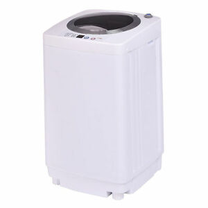 Full-Automatic-Laundry-Wash-Machine-7-7Lb-Washer-Spinner-W-Drain-Pump