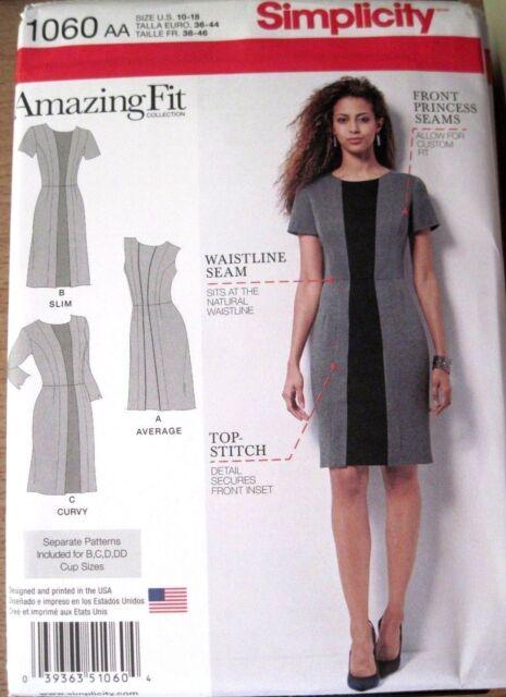 dba8f3a710e NEW SIMPLICITY SEWING PATTERN D0627   6498 MISSES DRESSES Sz. 6-18 ...