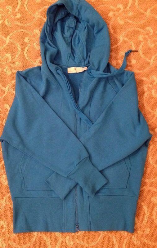 Adidas Stella McCartney Royal bluee Hooded Sweatshirt Never Worn Size S