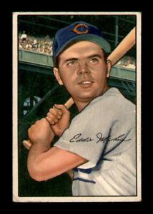 1952 Bowman Set Break # 32 Eddie Miksis VG-EX *OBGcards*