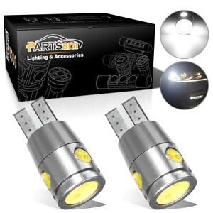 2x Canbus No Error White Cree Led Reverse Backup Light Lamps T10 168 194 2825