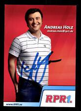 Andreas Holz  Autogrammkarte Original Signiert# BC 98170
