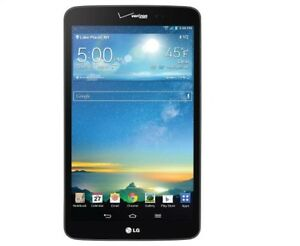LG G Pad 8 3 VK810 16GB Wi Fi 4G Verizon 8 3in Black Good Condition