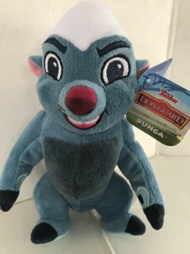 "Disney Junior Lion Guard Bunga Mini Plush Stuffed Animal 6/"" Tall Just Play 2015"