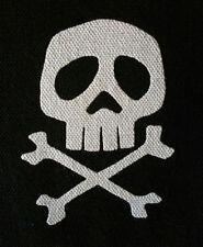 Captain Harlock PATCH canvas HORROR punk rock - Misfits, Samhain, Glenn Danzig