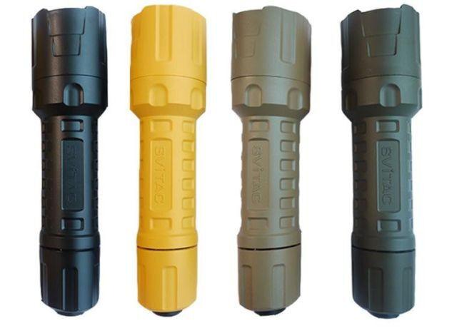 New SViTAC ST-1 CREE XM-L2 900 Lumens plastic LED Flashlight Torch ( Sand )