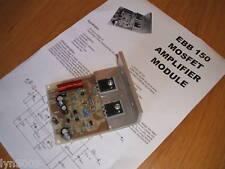 EBB 150 Mosfet Power Amplifier Module 125W RMS Audio Disco PA