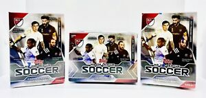 2019 Topps MLS Soccer BLASTER Box Lot Of 3!!! - One Guaranteed Relic Card!