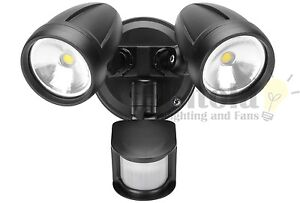 Image is loading DOMUS-MURO-LED-26w-OUTDOOR-TWIN-SPOT-FLOOD-