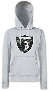SAVIORS-LOGO-Damen-Hoodie-Kapuzenpullover-Negan-The-Walking-Lucille-Bat-Dead