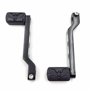 Black Aluminum Heel//Toe Shift Levers For Harley Electra Glide 1988 and later