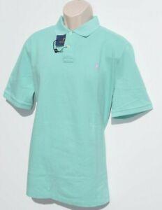 Acheter Pas Cher Polo Ralph Lauren Chemise Homme Classic-fit Mesh à Manches Courtes Xl 2xl Sea Green New-afficher Le Titre D'origine