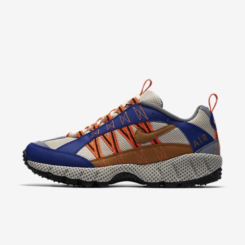 atrakcyjna cena duża obniżka hurtownia online Mens Nike Air Humara '17 QS Trail Running Shoes Blue Orange Cream AO3297 400