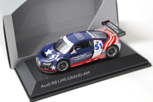 1:43 Spark Audi r8 LMS Grand-Le #51 Blue Dealer New chez Premium-modelcars