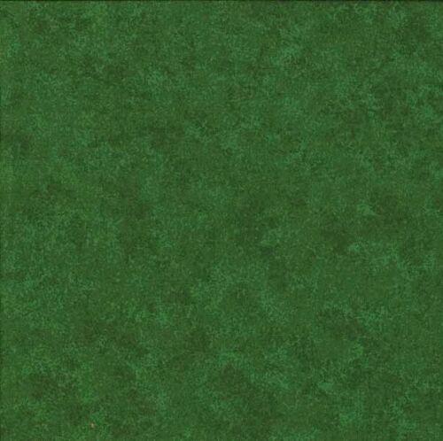 MAKOWER Tela-Spraytime-Bosque Verde 2800-G09-100/% Algodón-Varios Tamaños