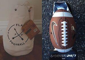 1 Nike Vapor 24 7 Size 8 Football with American Vintage 5 on 5 Flag ... f6f2f66e1b92a