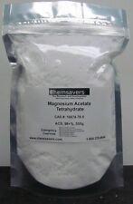 Magnesium Acetate Tetrahydrate Acs 98 500g